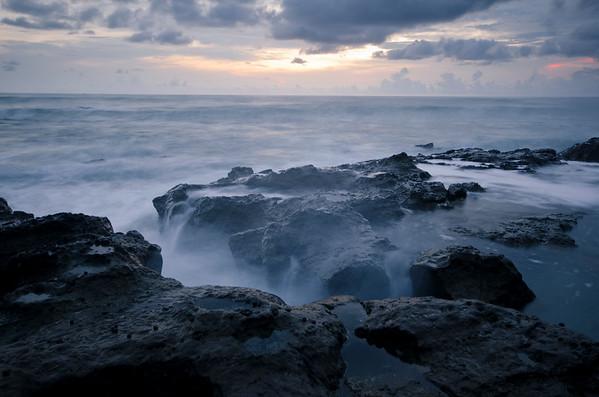 Misty Rocks in Mal Pais