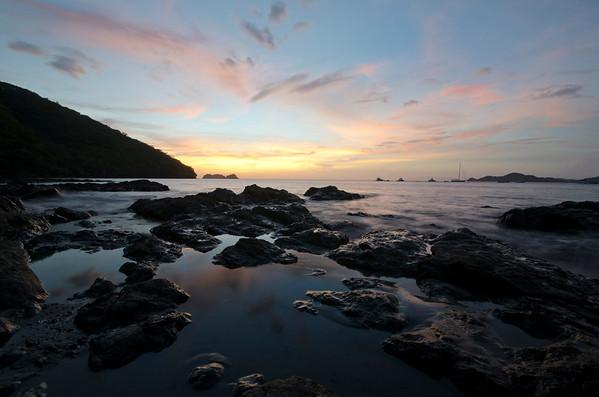 Sunset in Playa Hermosa