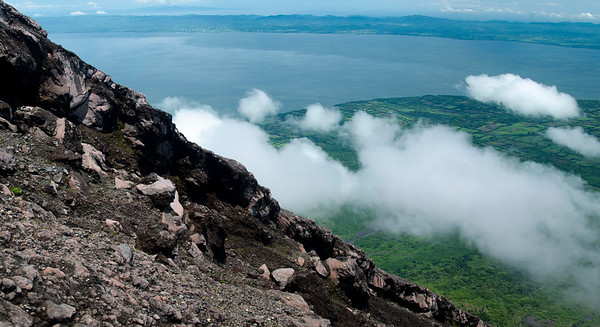 Lake Nicaragua from Volcan Conception