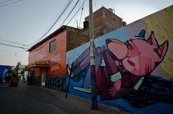 Graffiti in Trujillo 3