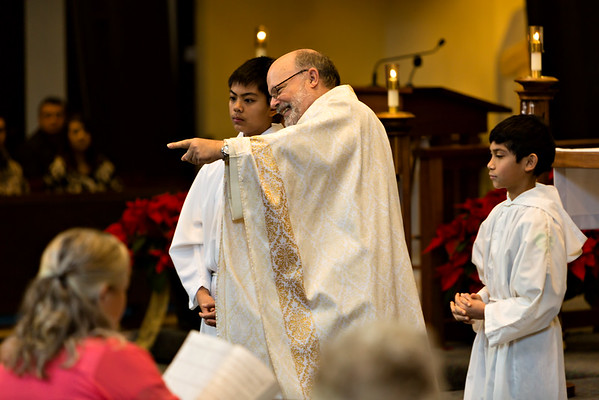 January 10, 2016 - 11:30 Mass by Fr. Dave Gese