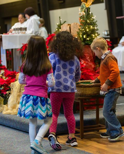 January 3, 2016 - 9:45 Mass by Fr. Dennis Sevilla
