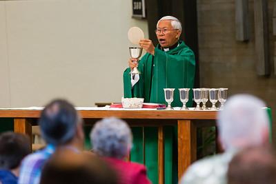 July 12, 2015 -  9:45 Mass by Fr. Dennis Sevilla