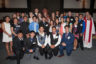 May 11, 2015 - Confirmation Group Photo