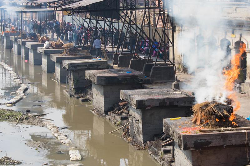 Burning Ghats, Pashupati Temple, Nepal