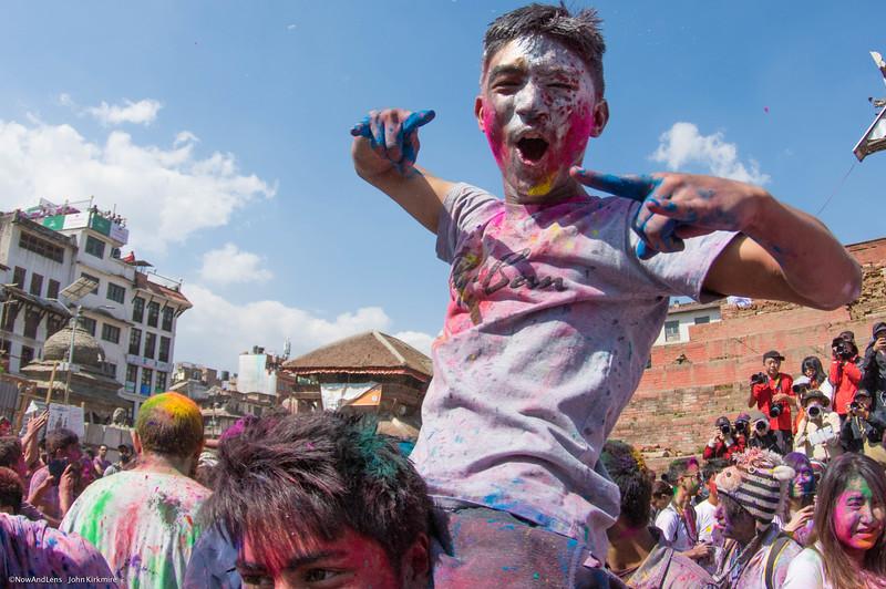 Holi Festival, Kathmandu