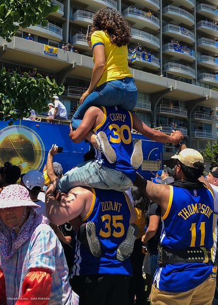 Warriors Celebration