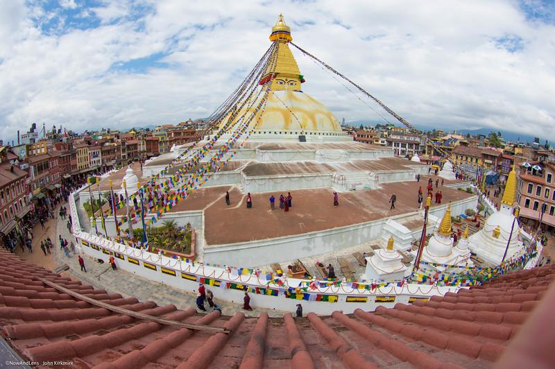 Bouda Stupa Village, Nepal