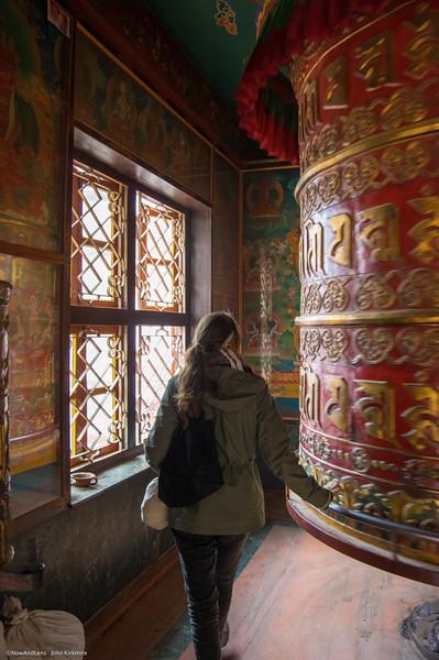 Prayer Wheel, Bouda, Nepal