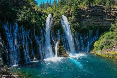 Burney-MacArthur Falls  State Park, CA