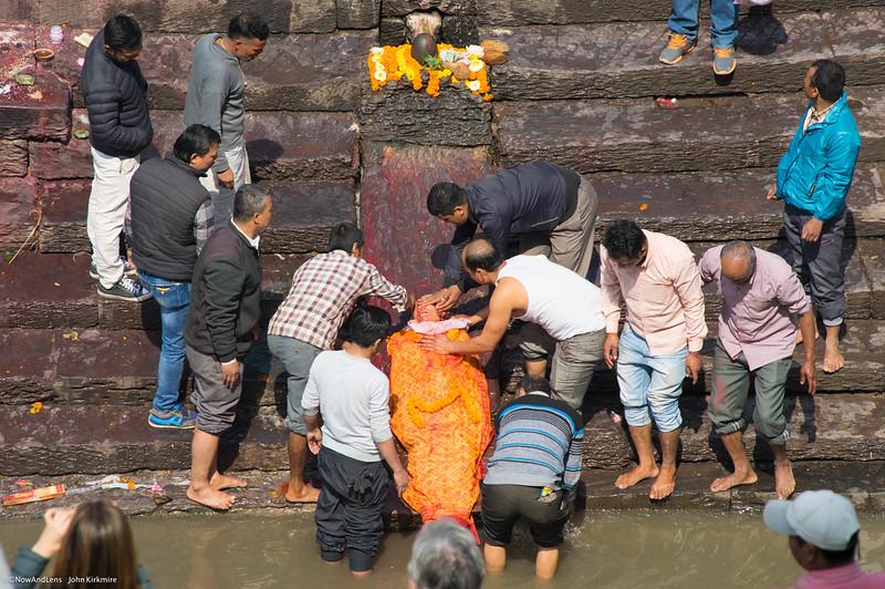 Body Cleansing, Pashupati, Kathmandu