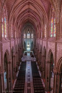 Quito Basilica interior