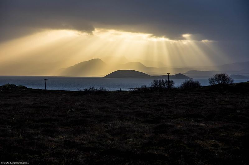 Sunbeams, Iceland