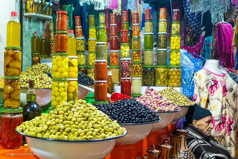 Olive Seller, Marrakesh