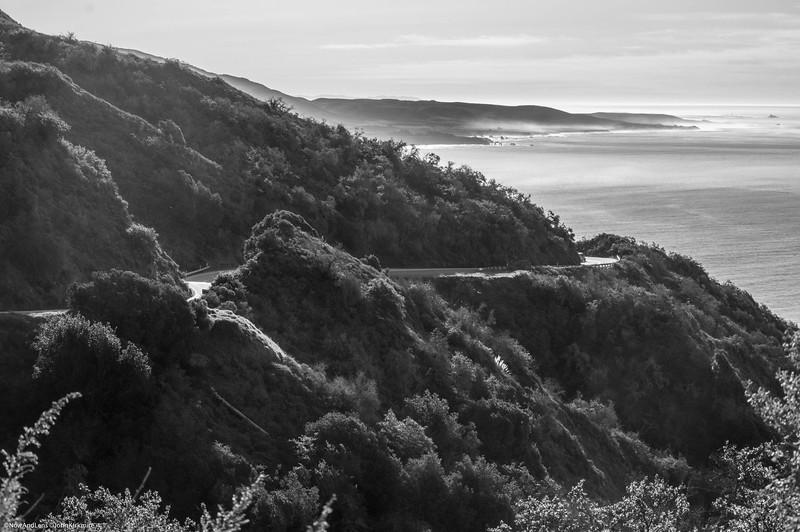 Pacific Coast Highway,  Big Sur California
