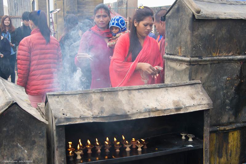 Swayambhunath  Temple Incense,  Kathmandu