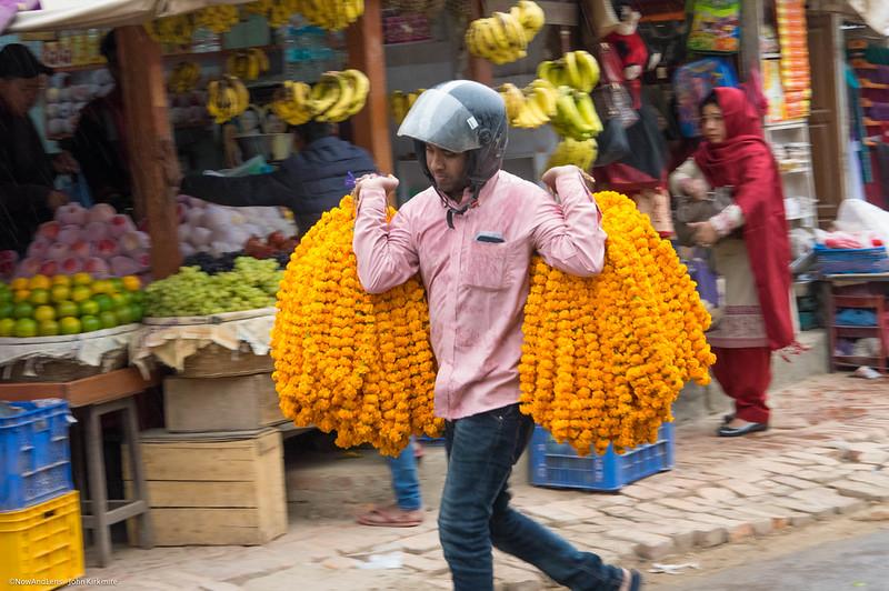 Garland,  Patan,  Nepal