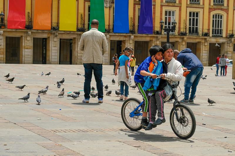 Biking Bogota Plaza