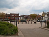 The Square looking North. Copyright Peter Drury 2010