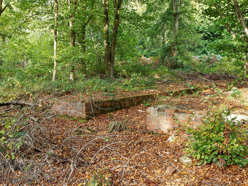 23 Oct 2011 Footings of the WW2 POW Camp.