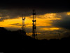 Dawn on Portsdown Hill. Copyright 2009 Peter Drury