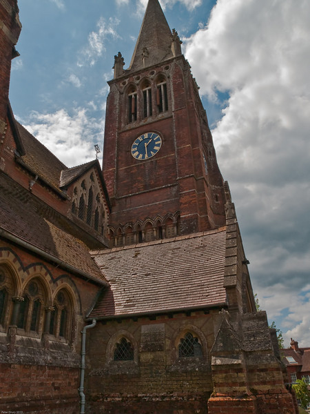 St Michaels and All Saints Church. Copyright Peter Drury 2010