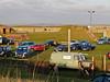 06 Nov 2011 Gun position/parade ground - now a car park, Fort Purbrook, Portsdown Hill.