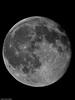 Moon shot. Copyright 2009 Peter Drury