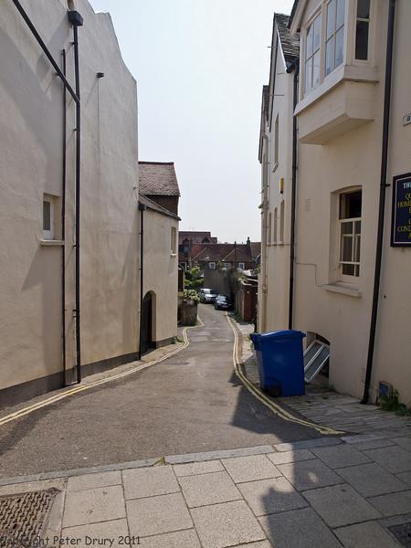 17 April 2011. Along Tarrant Street.  Copyright Peter Drury 2011