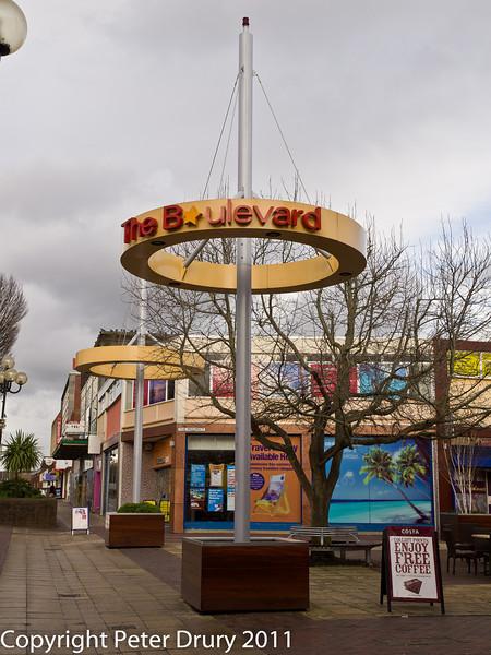 14 February 2011. The Boulevard. Copyright Peter Drury 2011