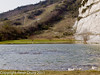 08 March 2011. The old Chalk Quarry at Paulsgrove. Copyright Peter Drury 2011