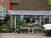 Petersfield Railway Station. Copyright Peter Drury 2010<br /> The flower shop outside the station.