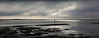 BroadMarsh towards Hayling Island Pano<br /> After a cold start to the day, the shroud of mist and low cloud was finally being burnt off at midday and the first rays of sun broke through.<br /> Pano of 10 hand-held shots in portrait format. Olympus E3 + Sigma 50-500 at 50mm. All settings manual.