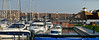 Port Solent East Panorama. Copyright Peter Drury 2010<br /> The area behind the boats is called the boardwalk which has a number of shops, pubs and resturants on two floors. I shall include more detailed photos of this area when I next visit.
