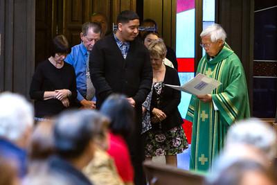 November 15, 2015 - 9:45 Mass by Fr. Dennis Sevilla