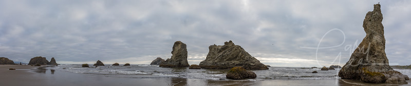 Bandon, Oregon - Stitch of 5 Photographs