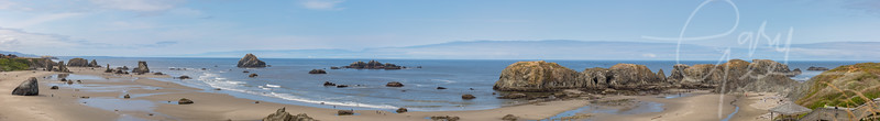 Bandon, Oregon - Stitch of 12 Photographs