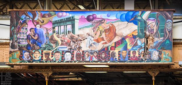 Mural on Randolph Street
