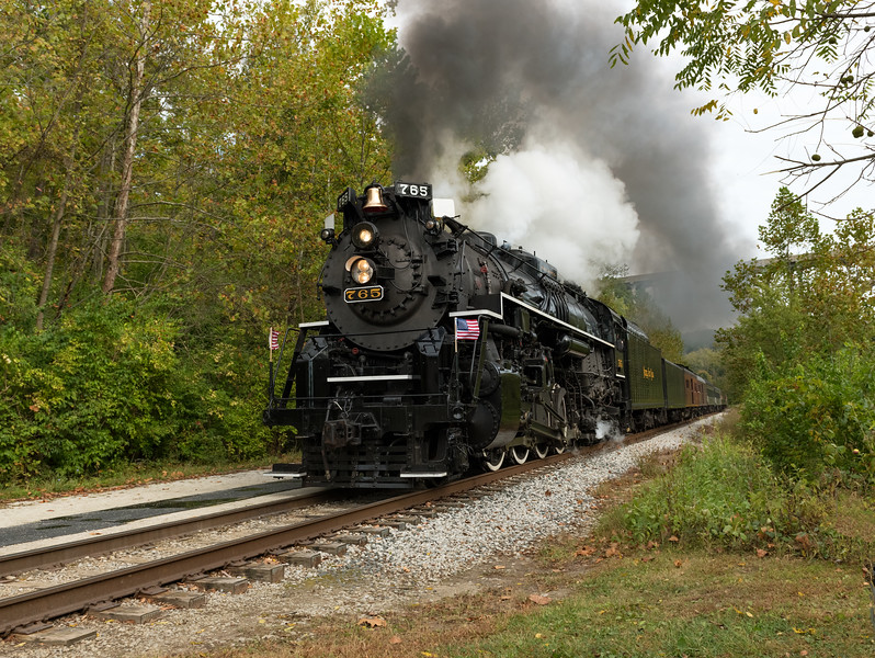 The Nickel Plate Road 765 Steam Locomotive