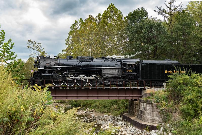 The Nickel Plate Road 765 Steam Locomotive