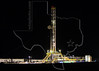 Nabors Rig F13,  Night, Drilling Eagle Ford Shale Well<br /> Keach Gas Unit No. 2<br /> near Nordheim, TX