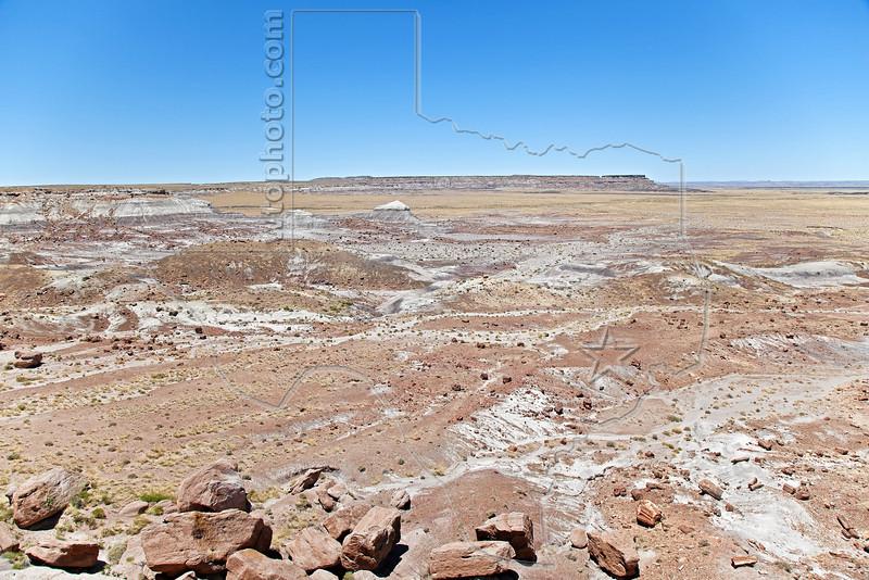 Badlands,<br /> Petrified Forest National Park
