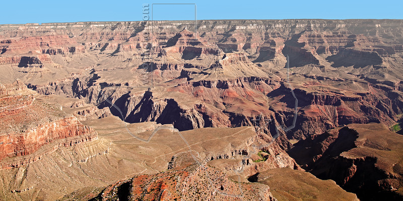Grand Canyon, South Rim Scenery,<br /> Grand Canyon National Park