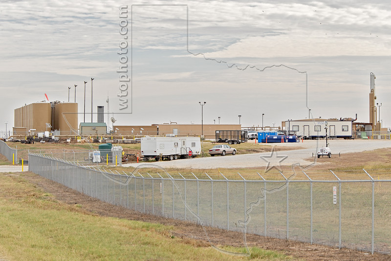 A Processing Center for Eagle Ford Shale Production,<br /> near Nordheim, TX