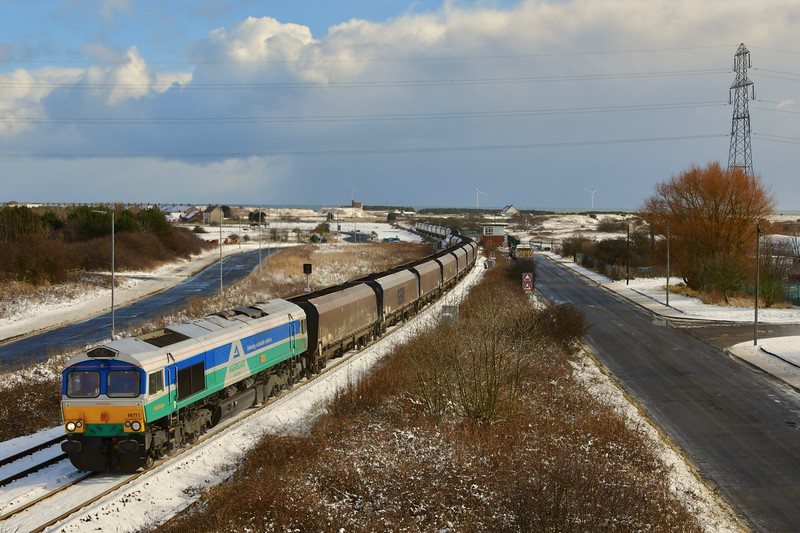 More Snow At North Blyth