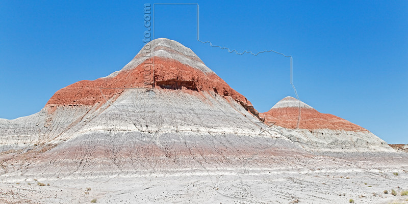 Painted Desert, Badlands<br /> Petrified Forest National Park