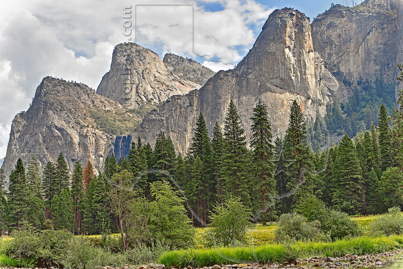 Leaning Tower,<br /> Yosemite National Park, Califormia
