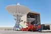 Antenna Assembly Building and Transporter,<br /> Very Large Array, VLA, National Radio Astronomy Observatory,<br /> West of Socorro, NM