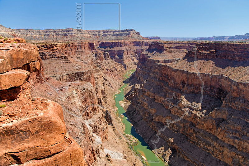 Colorado River at Toroweap (Tuweep) Overlook,<br /> Grand Canyon National Park, Arizona