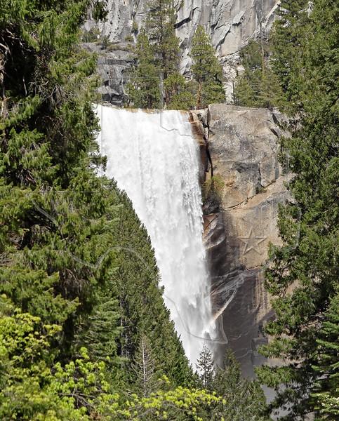 Vernal Falls,<br /> Yosemite National Park, 2011
